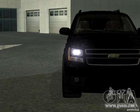 Chevrolet Tahoe BLACK EDITION für GTA San Andreas linke Ansicht