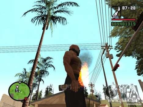 Molotov-Cosaques pour GTA San Andreas
