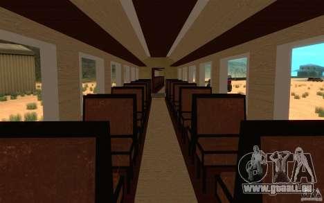 Locomotive pour GTA San Andreas vue de côté