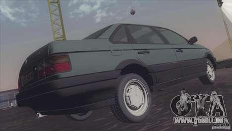 Volkswagen Passat B3 v2 pour GTA San Andreas vue de droite