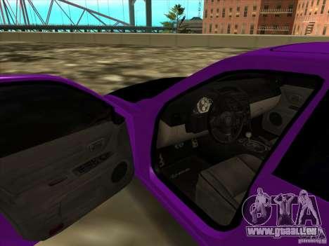 Lexus IS300 - Stock für GTA San Andreas Rückansicht