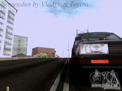 Toyota Corolla TE71 Coupe für GTA San Andreas Seitenansicht