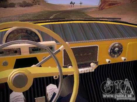 GAS 22 b Van für GTA San Andreas obere Ansicht