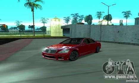 Mercedes-Benz S65 AMG Estate Edition pour GTA San Andreas vue de côté