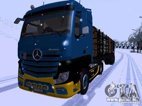 Mercedes Benz Actros MP4 pour GTA San Andreas