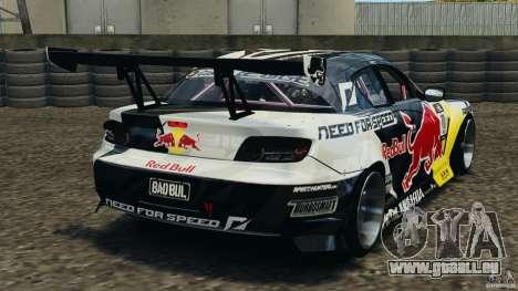 Mazda RX-8 Mad Mike für GTA 4 hinten links Ansicht