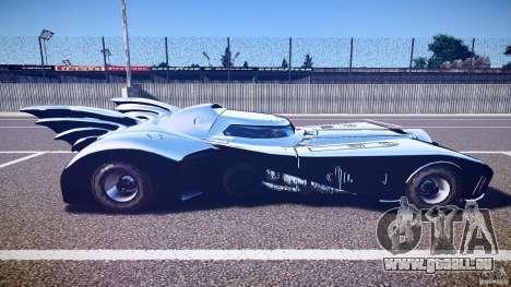 Batmobile v1.0 für GTA 4 Seitenansicht