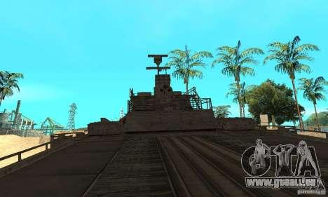 Bateau pour GTA San Andreas vue de droite