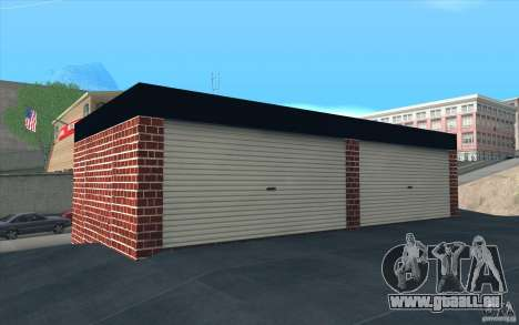 Neue Garage in Dorothy für GTA San Andreas her Screenshot