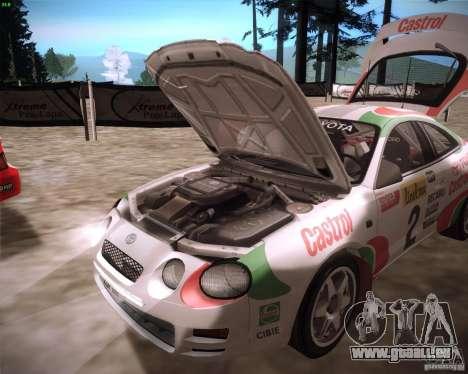 Toyota Celica ST-205 GT-Four Rally pour GTA San Andreas vue de droite