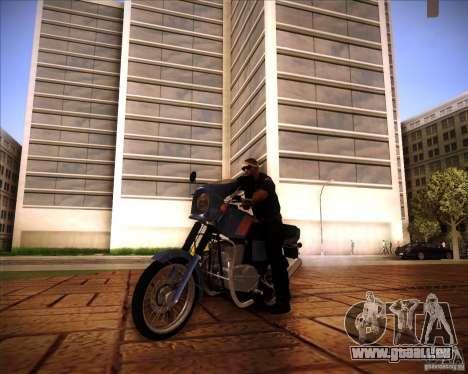 Jawa 350 TS für GTA San Andreas zurück linke Ansicht