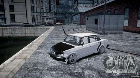 ВАЗ 2107 Drift für GTA 4 Innenansicht
