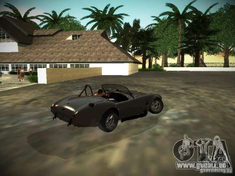 Shelby Cobra für GTA San Andreas rechten Ansicht