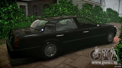 Washington FBI Car pour GTA 4 est une gauche