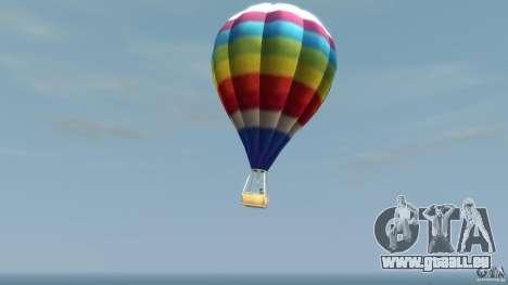 Balloon Tours option 7 pour GTA 4 est une gauche