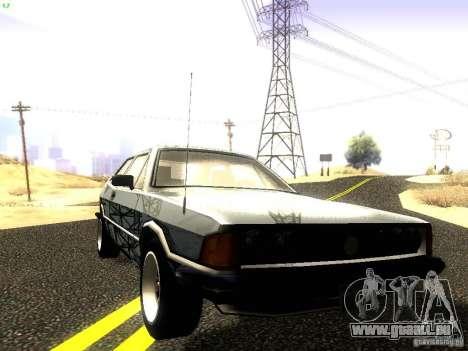 Volkswagen Scirocco Mk1 pour GTA San Andreas vue de côté