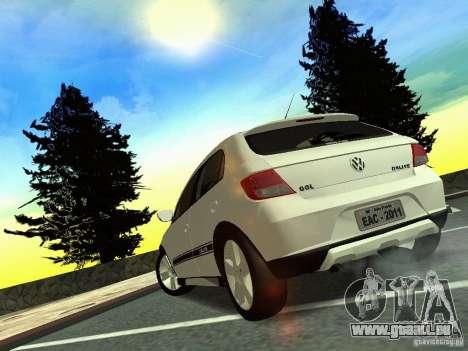 Volkswagen Gol Rallye 2012 für GTA San Andreas linke Ansicht