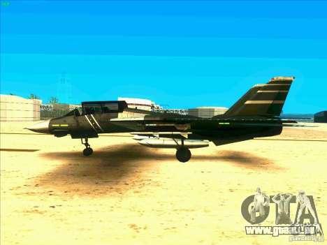 F-14 Tomcat Schnee für GTA San Andreas linke Ansicht