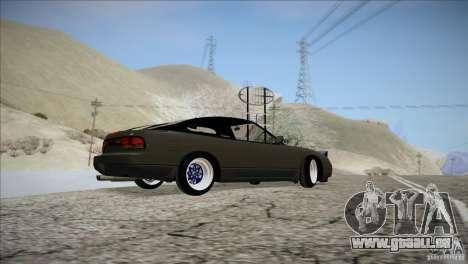 Nissan 240SX S13 für GTA San Andreas Innenansicht