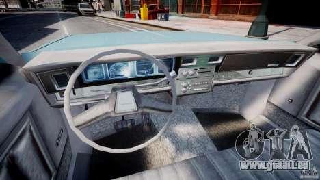 Chevrolet Impala 1983 [Final] pour GTA 4 Vue arrière
