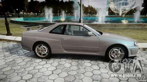 Nissan Skyline GT-R R34 2002 v1 pour GTA 4 est une vue de l'intérieur