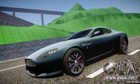 Aston Martin DB9 2005 V 1.5 pour GTA 4 est une vue de l'intérieur