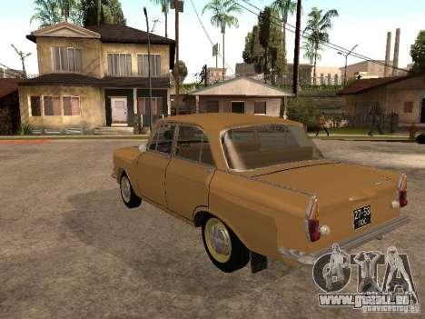 Moskvitch 408 Elite pour GTA San Andreas sur la vue arrière gauche