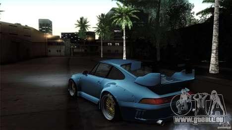 Porsche 993 RWB pour GTA San Andreas vue de droite