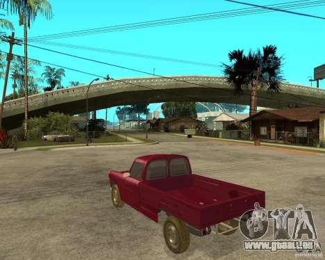 Peugeot 404 UXD pour GTA San Andreas laissé vue