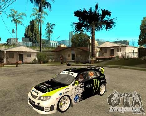 Ken Block Subaru Impreza WRX STi 2009 für GTA San Andreas