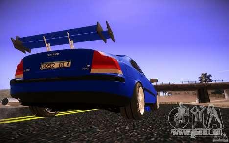 Volvo S 60R für GTA San Andreas obere Ansicht