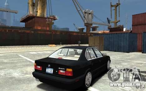BMW 540i E34 v3.0 pour GTA 4 est un droit