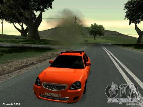 LADA 2170 102-RUS pour GTA San Andreas