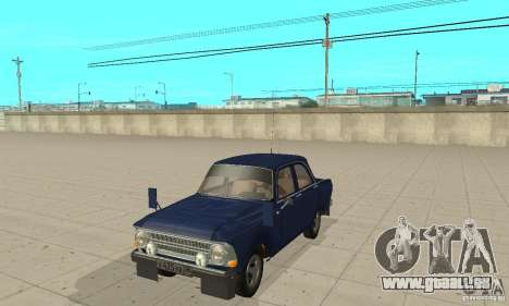 Moskvitch 412 avec tuning pour GTA San Andreas