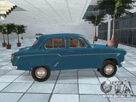 Moskvich 403 für GTA San Andreas rechten Ansicht