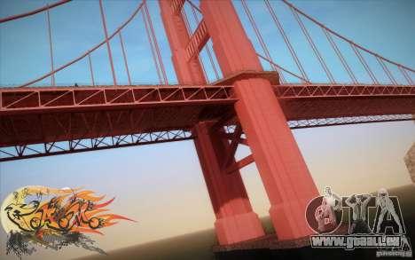 New Golden Gate bridge SF v1.0 pour GTA San Andreas cinquième écran