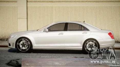 Mercedes-Benz S63 AMG [Final] pour GTA 4 est une gauche