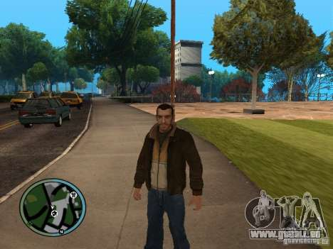 Nico Bellic pour GTA San Andreas