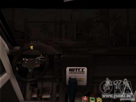 Chevrolet Lacetti WTCC v2 pour GTA San Andreas laissé vue