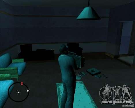 Aller à n'importe quelle maison pour GTA San Andreas sixième écran