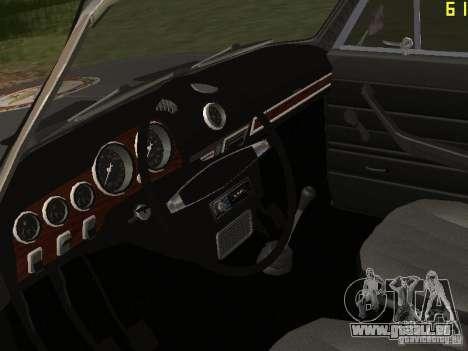 VAZ 21063 académique pour GTA San Andreas vue arrière
