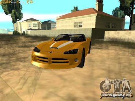 Dodge Viper SRT-10 für GTA San Andreas