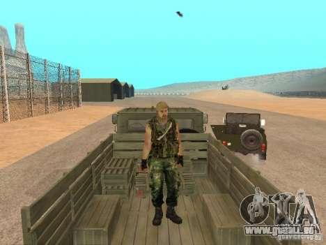 Commando russe pour GTA San Andreas cinquième écran