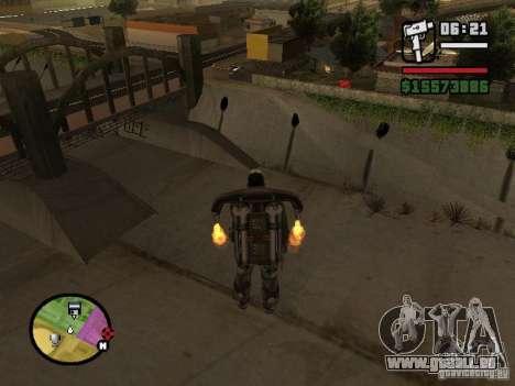 L'eau par défaut pour GTA San Andreas deuxième écran