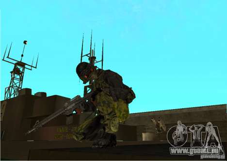 Peau de Battlefield 3 pour GTA San Andreas deuxième écran