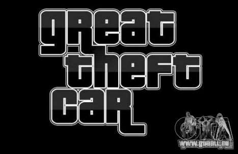 Great Theft Car V1.1 pour GTA San Andreas