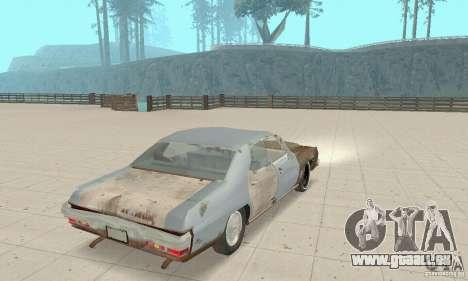 Pontiac LeMans 1970 Scrap Yard Edition für GTA San Andreas linke Ansicht
