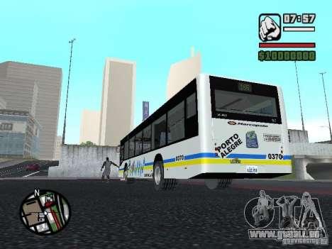 Onibus für GTA San Andreas rechten Ansicht