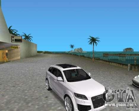 Audi Q7 v12 pour GTA Vice City