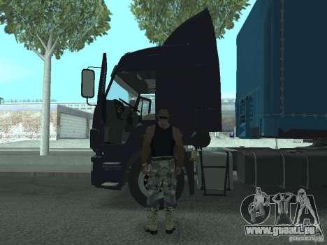 Aktives Dashboard 3.0 für GTA San Andreas her Screenshot